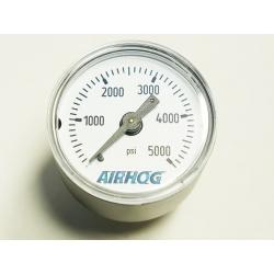 """Gauge Airhog 1.5"""" BKM 5000PSI"""